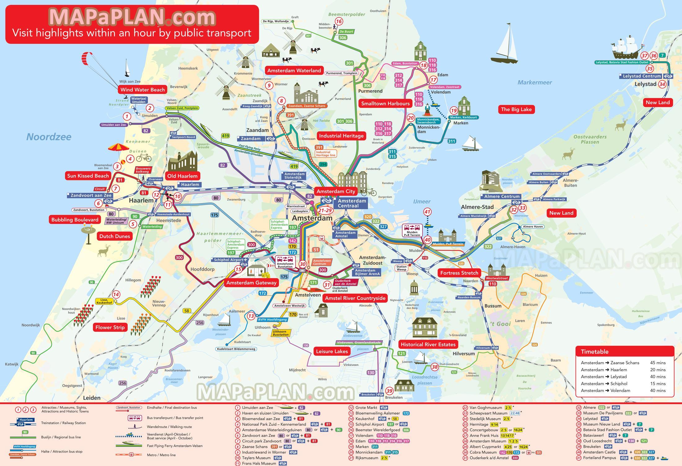 holland sehenswürdigkeiten karte Niederlande Sehenswürdigkeiten Karte   Niederlande Attraktion