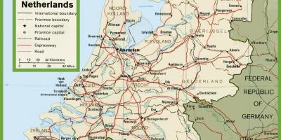 Zeeland Holland Karte.Niederlande Holland Karte Karten Niederlande Holland